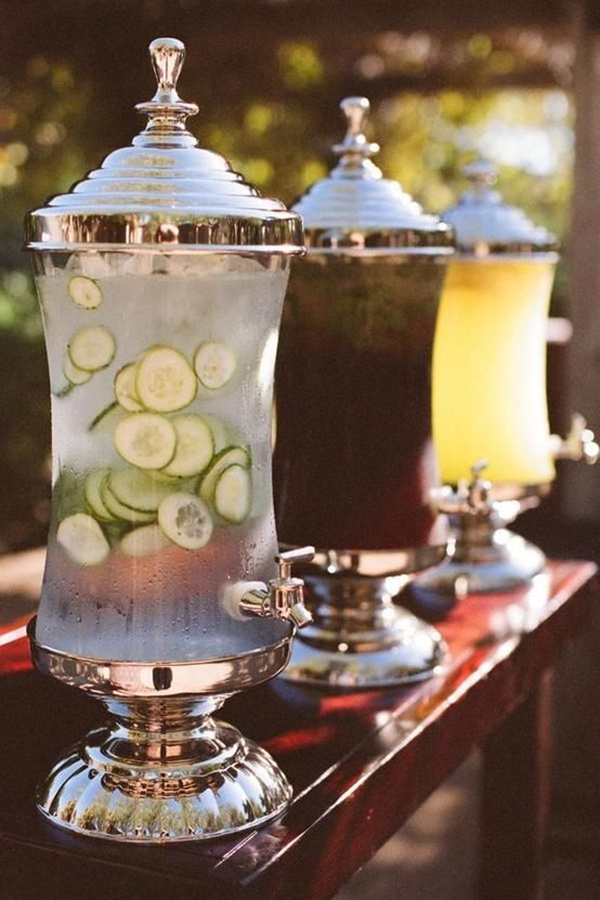 Drink-Coolers3 10 Best Ideas For Outdoor Weddings in 2017