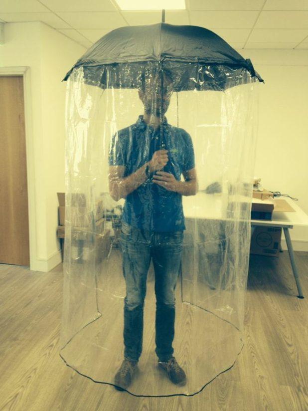 Full-Body-Umbrella1 15 Unusual Designs For Umbrellas