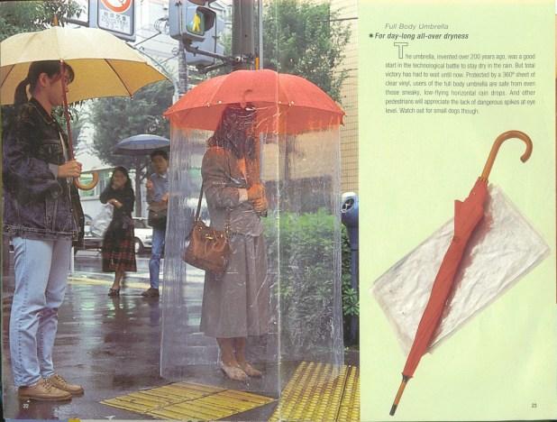 Full-Body-Umbrella2 15 Unusual Designs For Umbrellas