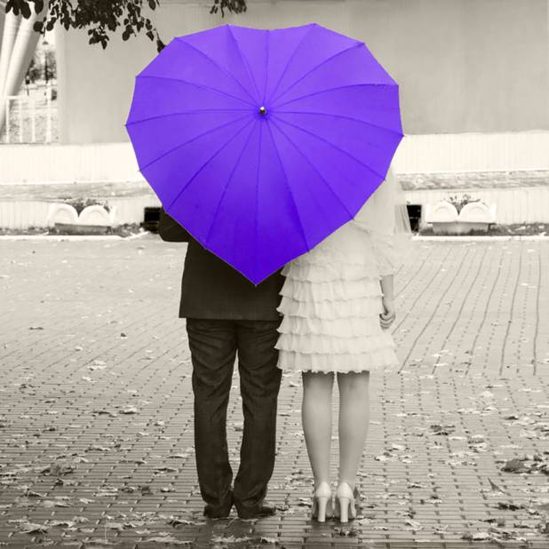 Heart-Shaped-Umbrella3. 15 Unusual Designs For Umbrellas