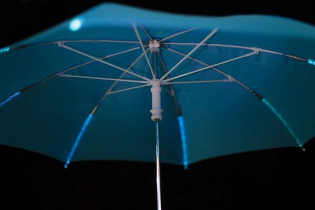 Illuminating-Umbrella3 15 Unusual Designs For Umbrellas
