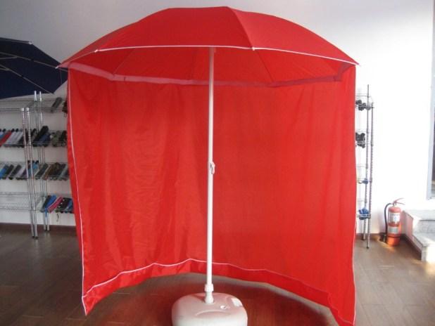 Long-Curtain-Umbrella2 15 Unusual Designs For Umbrellas