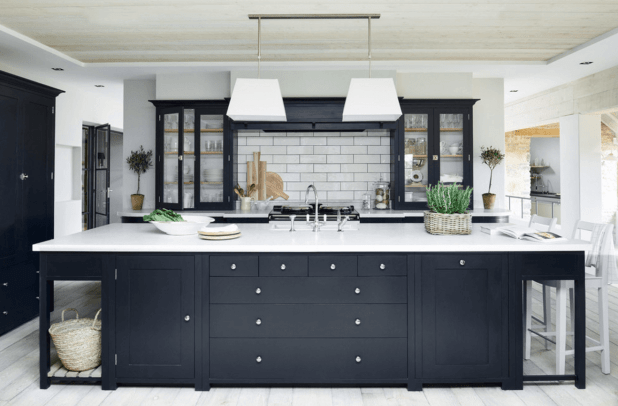 Make-It-Black1 5 Kitchens' Decorations Ideas For 2017