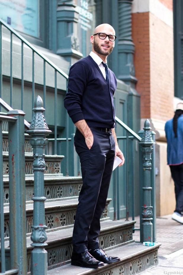 Neck-Cardigans3 25+ Winter Fashion Trends for Handsome Men in 2017