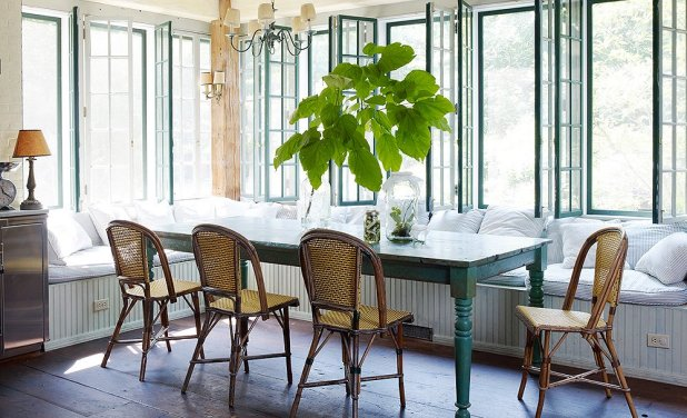 Parisian-Café-Inspired-Dining-Room4 +15 Best Luxurious and Modern Dining Room Design for 2017