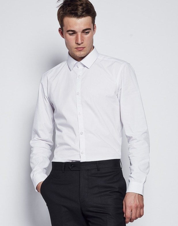 Plain-White-Shirts1 6 Trendy Weddings Outfit Ideas for Men
