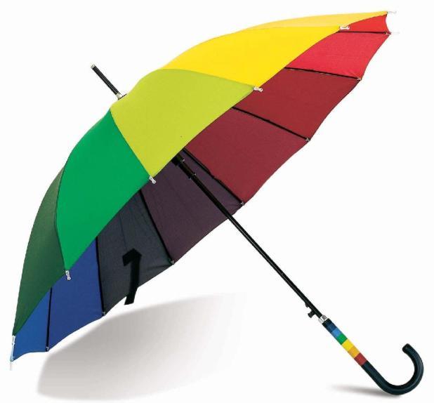 Rainbow-Umbrella1 15 Unusual Designs For Umbrellas