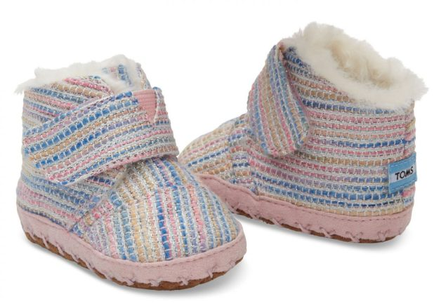 TOMS-baby-girl-shoes-Pink-Metallic-675x473 20+ Adorable Baby Girls Shoes Fashion for 2017