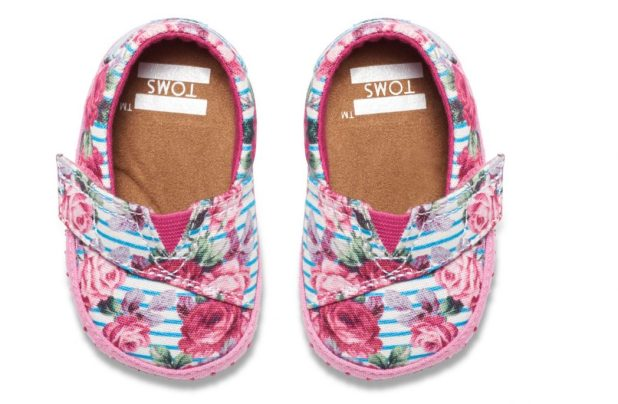 TOMS-baby-girl-shoes6-TOMS-exclusive-Floral-Stripes-675x441 20+ Adorable Baby Girls Shoes Fashion for 2017