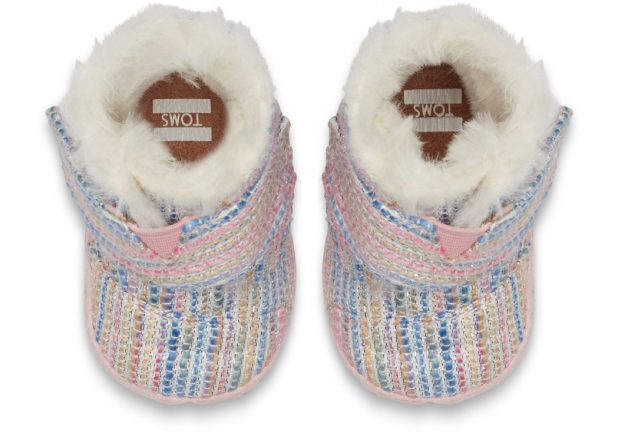 Toms-baby-girl-shoes2-Pink-Metallic-675x473 20+ Adorable Baby Girls Shoes Fashion for 2017