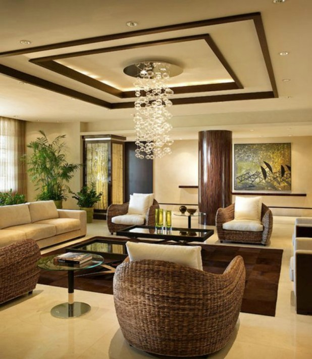 Warm-living-room-ceiling-design-1-675x775 6 Designs of Suspended Ceiling Decors for 2017
