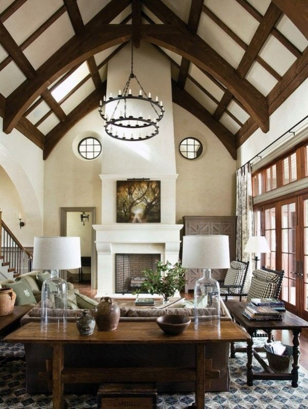 ceiling-beams-7 15 Newest Home Decoration Trends You Have to Know for 2017