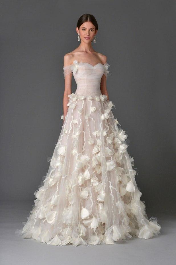 floral-wedding-dress-Carolina-Herrera-675x1012 2017 Wedding dresses Trends for a Gorgeous-looking Bride