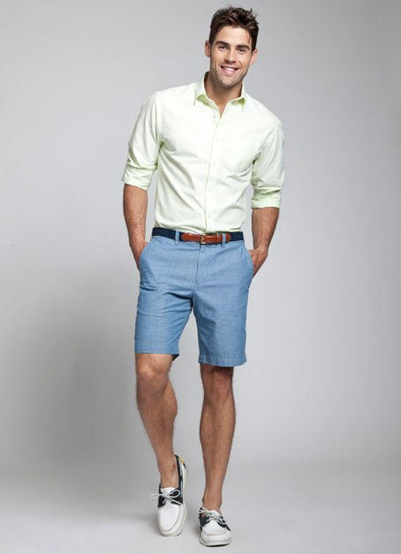 Shirt-with-Bermuda2-1 10 Most Stylish Outfits for Guys in Summer 2017