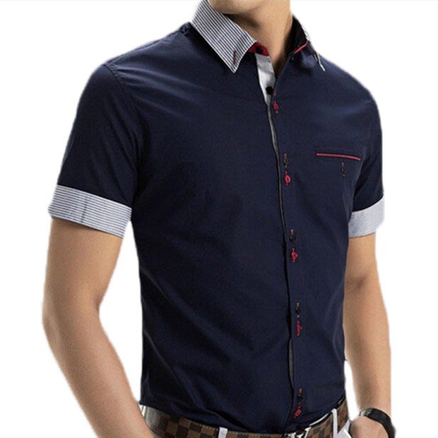 Short-sleeve-shirt-675x675 10 Most Stylish Outfits for Guys in Summer 2017