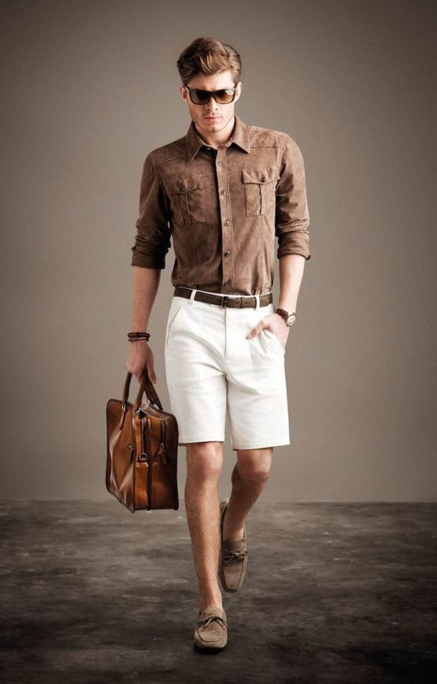 Shorts-with-casual-shoes2-675x1055 10 Most Stylish Outfits for Guys in Summer 2017