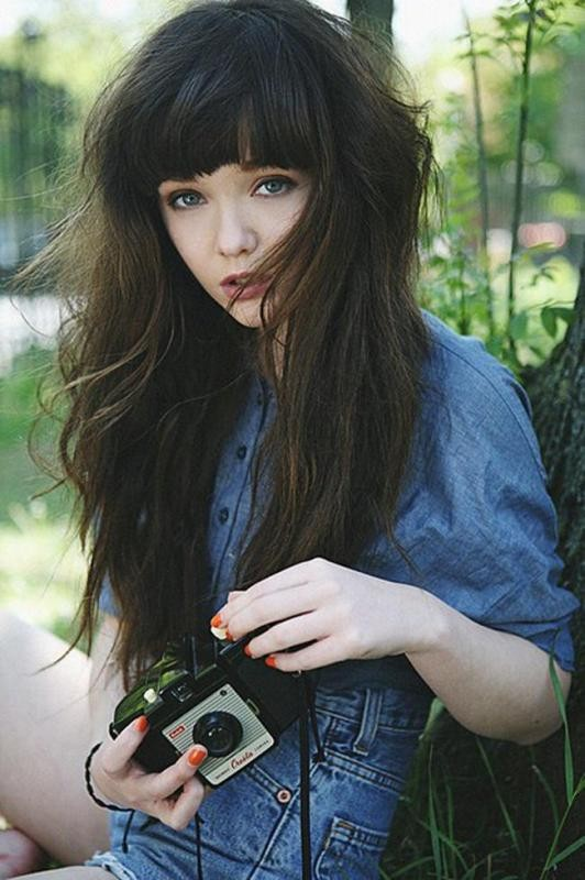 bangs-2 28 Hottest Spring & Summer Hairstyles for Women 2017