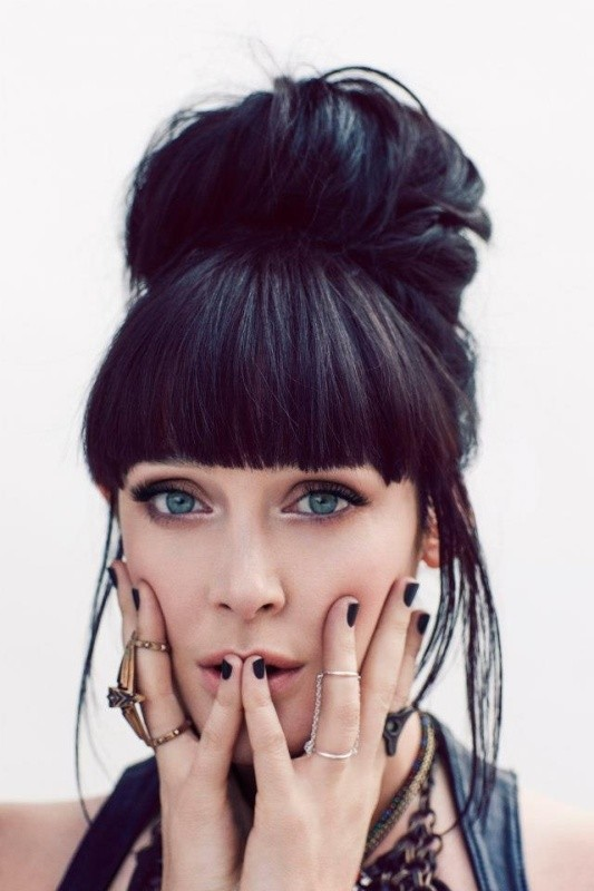 bangs-7 28 Hottest Spring & Summer Hairstyles for Women 2017