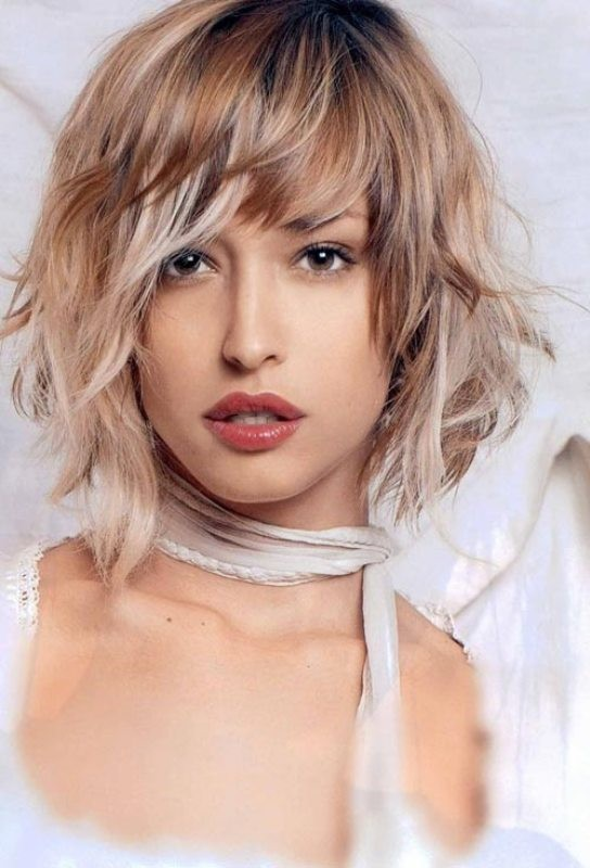 bangs-8 28 Hottest Spring & Summer Hairstyles for Women 2017
