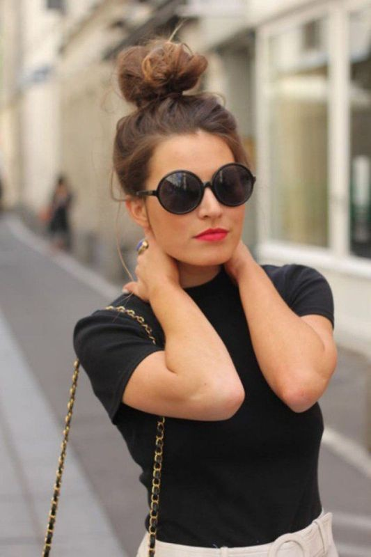 buns-1 28 Hottest Spring & Summer Hairstyles for Women 2017