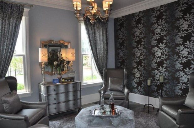 charcoal-and-light-gray-11 Newest Home Color Trends for Interior Design in 2017