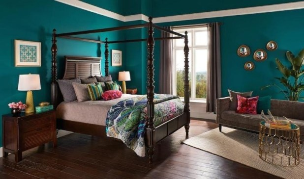different-shades-of-blue-21 Newest Home Color Trends for Interior Design in 2017