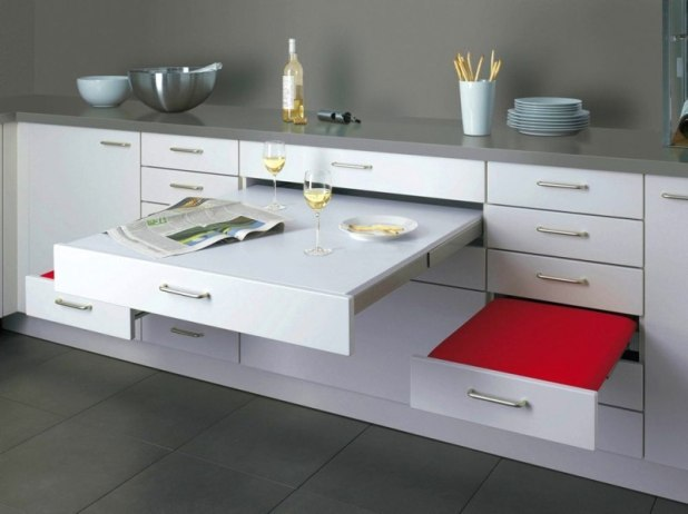 dining-table-drawers 83 Creative & Smart Space-Saving Furniture Design Ideas in 2017