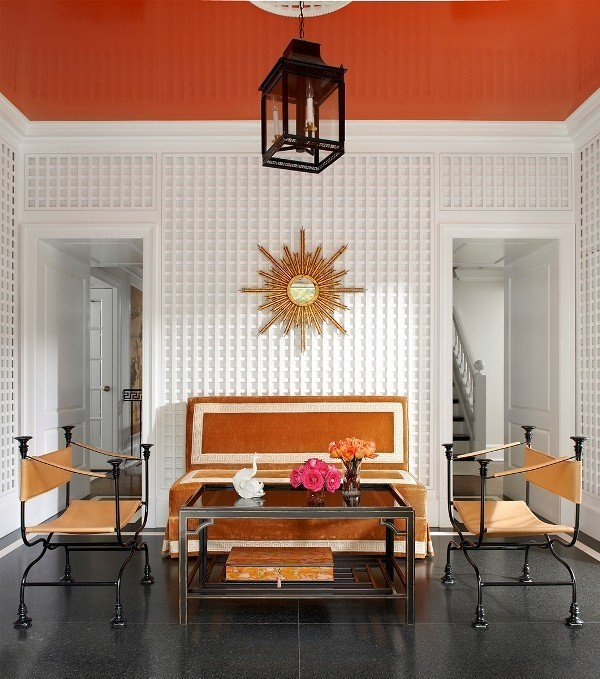 orange-3 Newest Home Color Trends for Interior Design in 2017