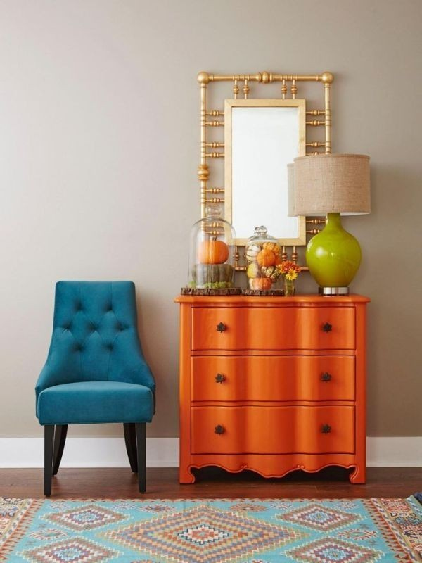 orange Newest Home Color Trends for Interior Design in 2017