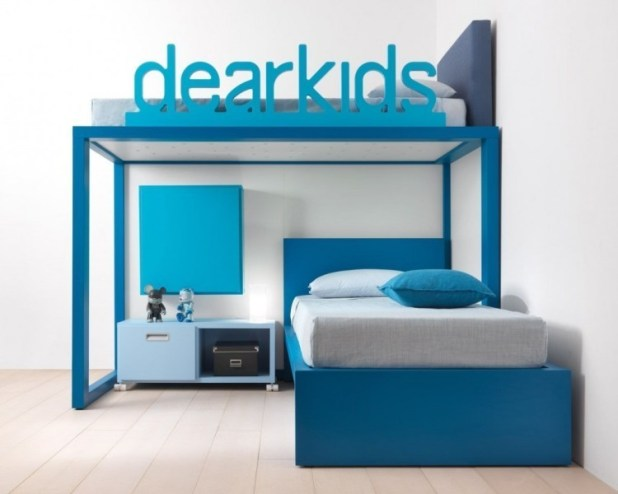 space-saving-bunk-beds-for-kids 83 Creative & Smart Space-Saving Furniture Design Ideas in 2017