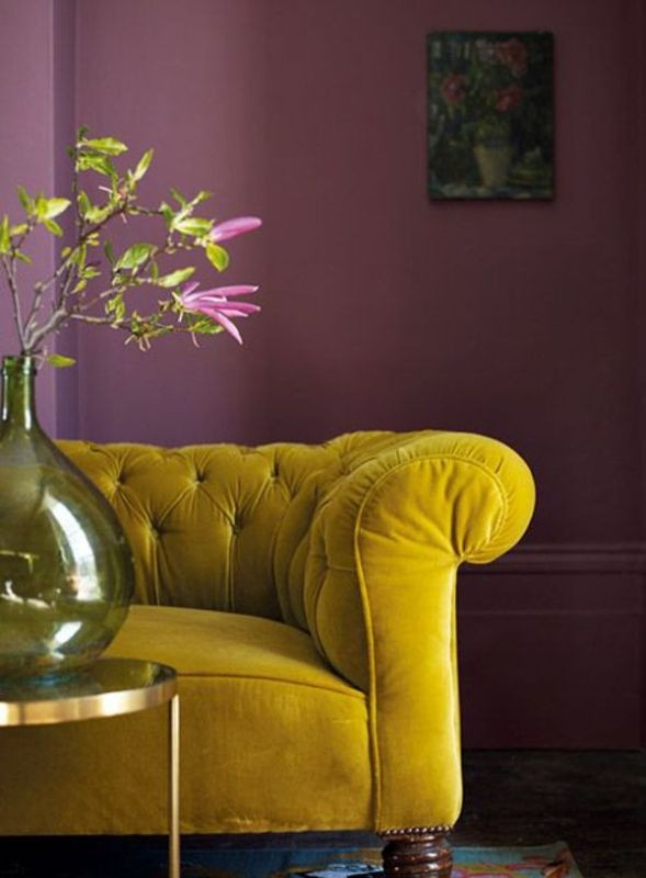yellow Newest Home Color Trends for Interior Design in 2017