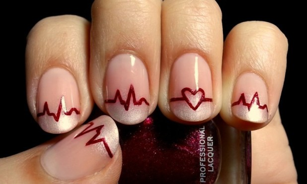 Valentines-Day-Nails-2017-104 50+ Lovely Valentine's Day Nail Art Ideas 2017