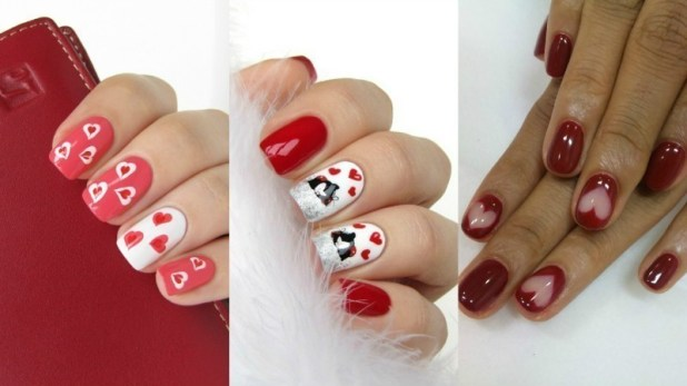 Valentines-Day-Nails-2017-124 50+ Lovely Valentine's Day Nail Art Ideas 2017