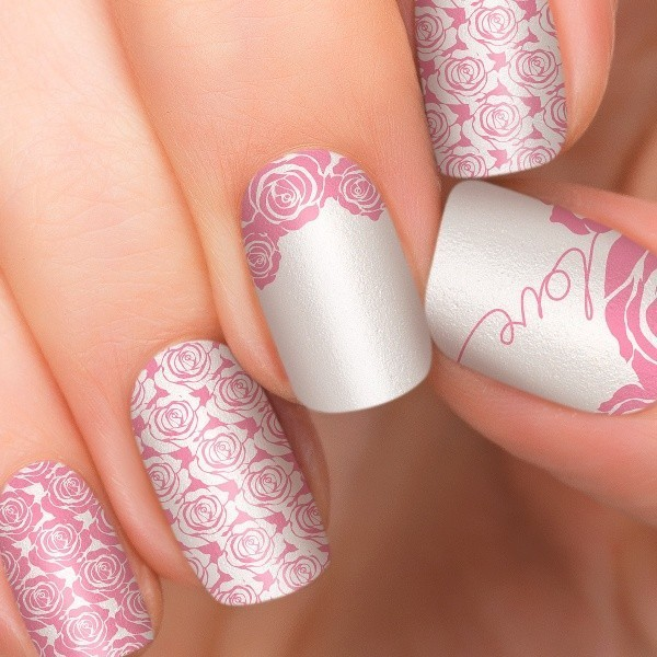 Valentines-Day-Nails-2017-43 50+ Lovely Valentine's Day Nail Art Ideas 2017
