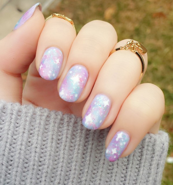 Valentines-Day-Nails-2017-71 50+ Lovely Valentine's Day Nail Art Ideas 2017