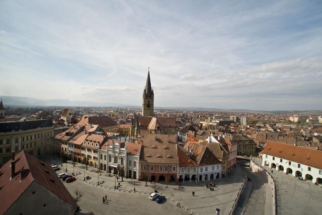 Sight from Hermannstadt