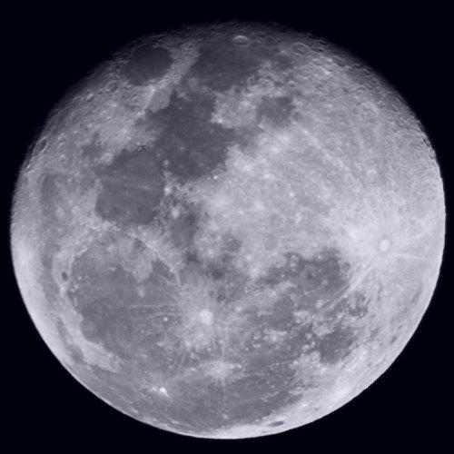 Full Moon | Canon 40D | 1/60s | ISO 400 | F/5 | Celestron Omni XLT 150 telescope 750mm focal lenght