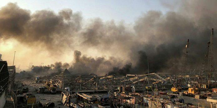 explosion Lebanon Beirut