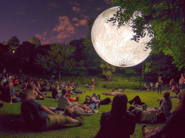 Museum of the Moon – follow the floating moon all over the world!
