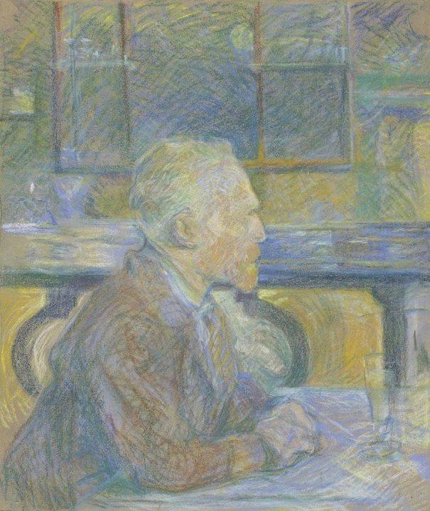 The portrait of Vincent van Gogh