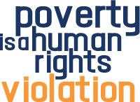 Poverty is a human rights violation