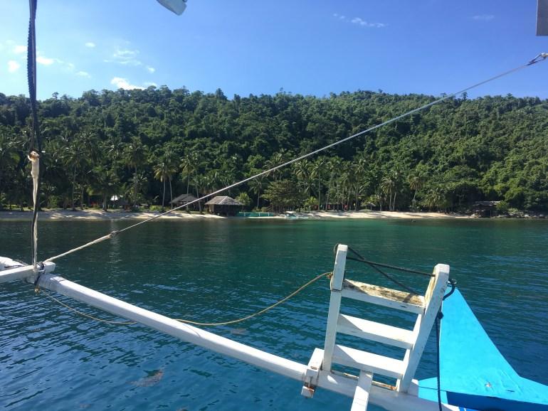 Prichádzame na Albaguen Island