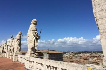 Pohľad na Rím z Baziliky sv. Petra
