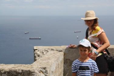 "Výhľad z ""Rock of Gibraltar"""