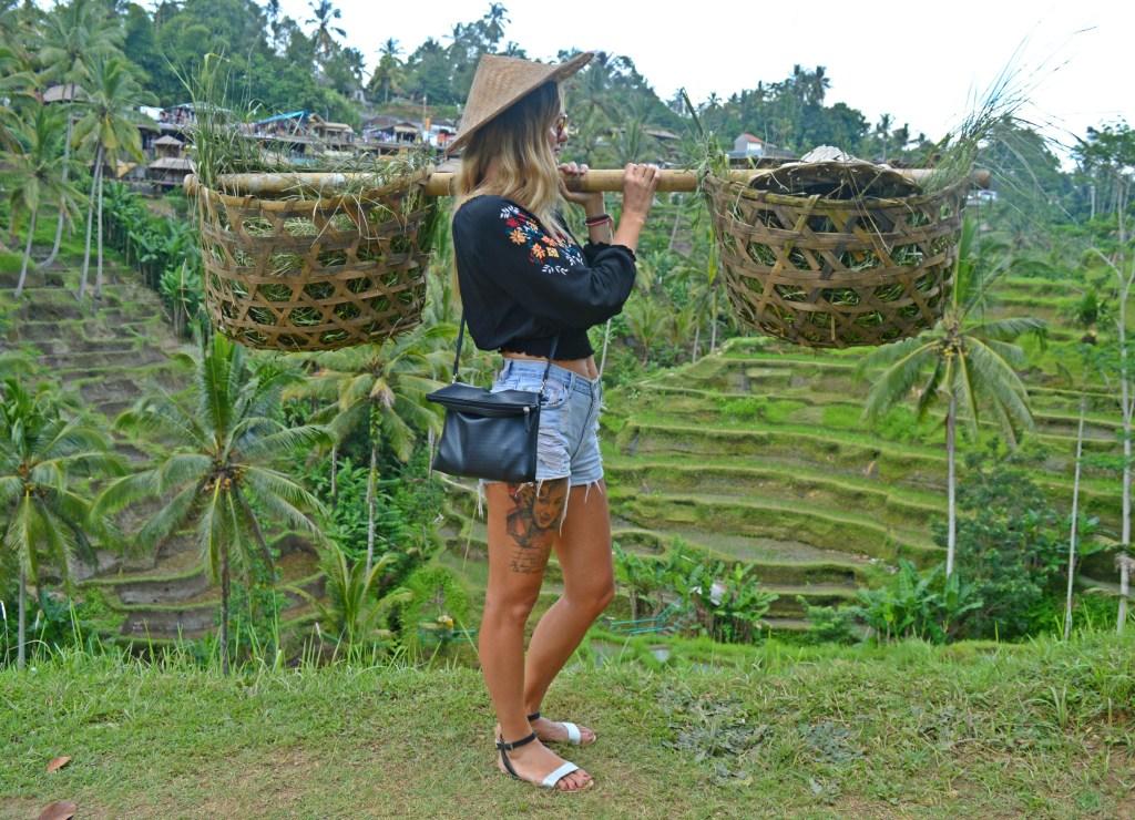 Ryžové polia Tegalalang