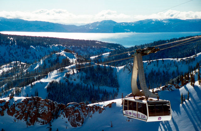 What's a few drainages between ski areas? Not much, apparently. Photo: Squaw.com
