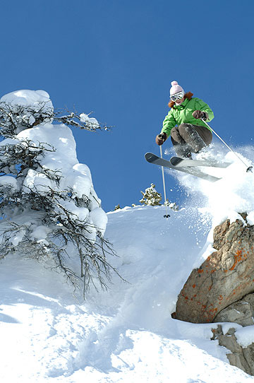 In Third Bowl, Crested Butte. Photo: Tom Stillo