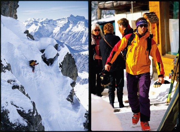 Doug Coombs, Verbier, Switzerland