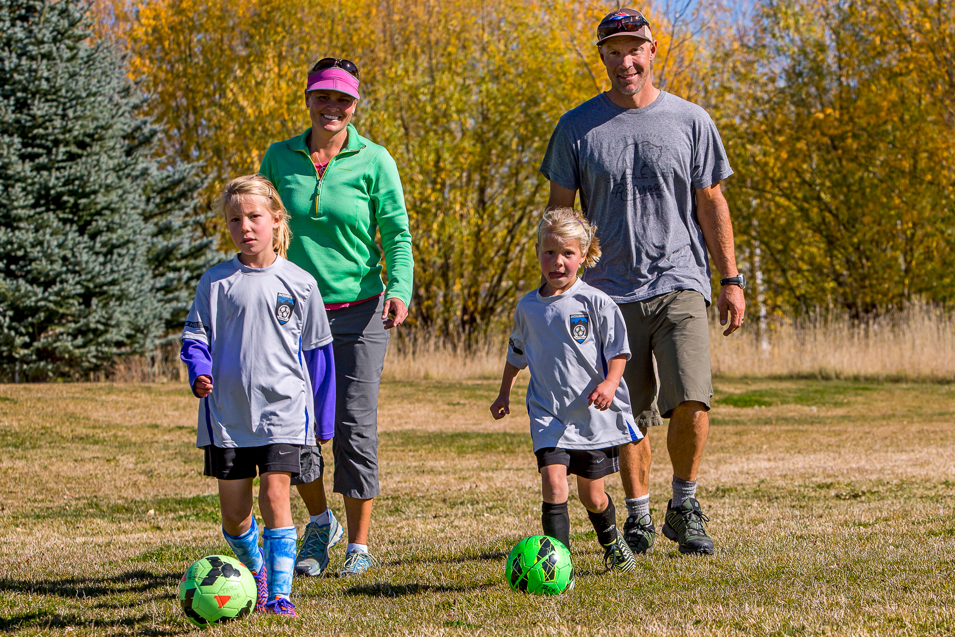 Everything changes when you have kids—for Moe, that means spending as much time as possible outdoors with the family living in Jackson Hole, Wyoming. PHOTO: Jonathan Selkowitz