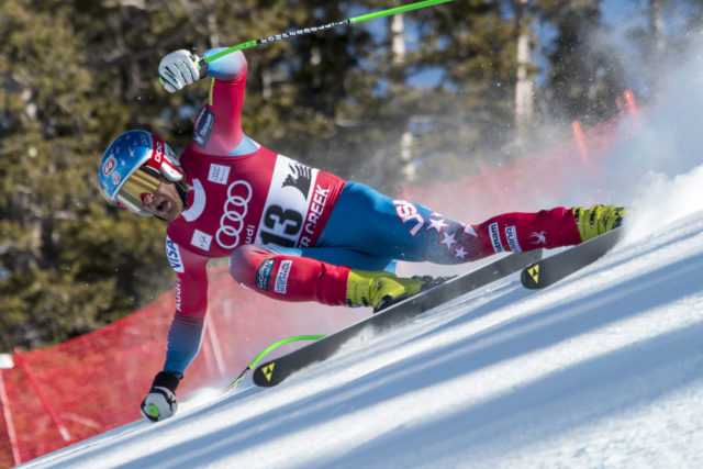 Gliding skills may prove to be an advantage in Val d'Isere for American downhiller Steven Nyman. PHOTO: Courtesy of US Ski Team
